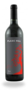 Flame Hill red wine