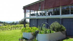 Flame Hill kitchen garden Montville